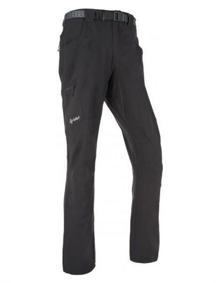 KILPI Мъжки софтшел панталон WANAKA BLACK - Черно