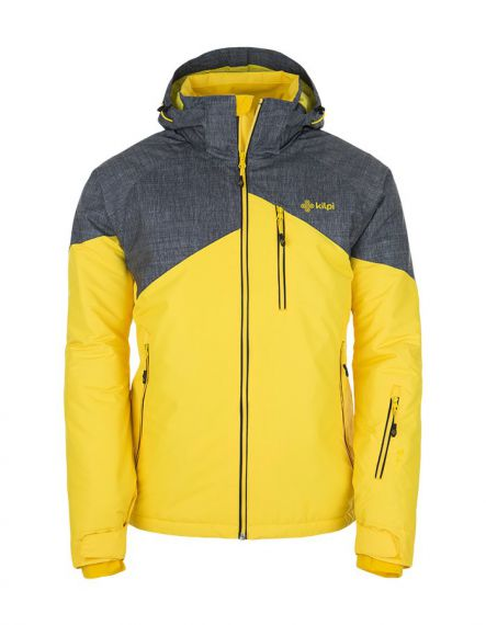 KILPI Мъжко ски яке Oliver Yellow - Жълто