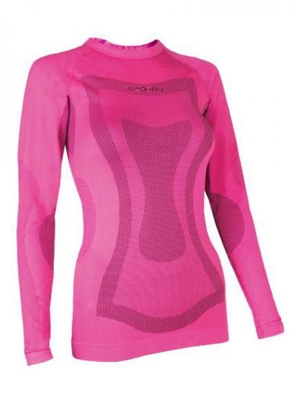 Spokey Дамска термо блуза Dune - Розово