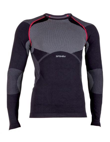 SPOKEY Мъжка термо блуза HAMADA NEW - Черно