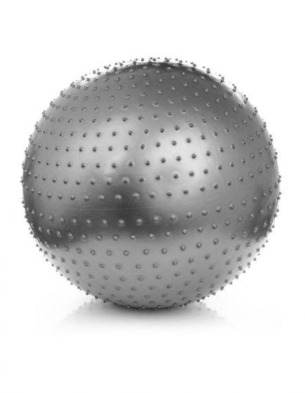 Meteor Гимнастическа масажна топка 75 см - Сиво