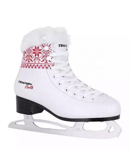 Tempish Кънки за фигурно пързаляне NORTH - Бяло