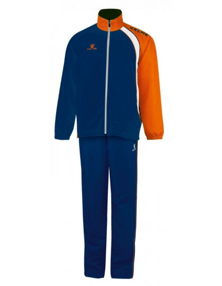 Kelme Спортен екип Cartago Tracksuit Training 71521-706 Navy Orange - Синьо