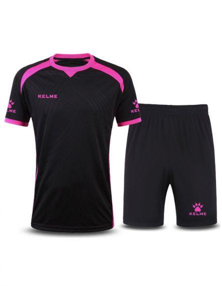 KELME Футболен екип Premium Set JR 78151-26 Black - Черно