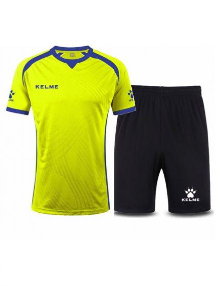 KELME Футболен екип Premium Set 78151-402 Lime - Зелено
