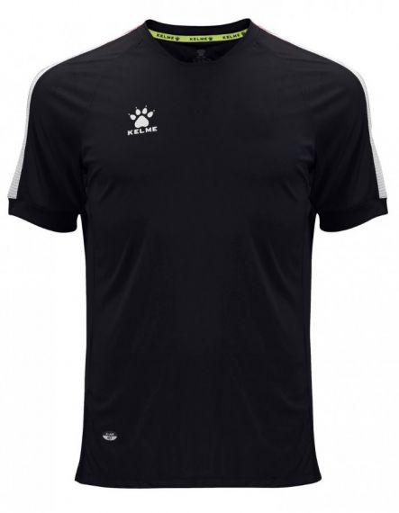 KELME Тениска Global S/S Jersey JR 78162-26 Black - Черно