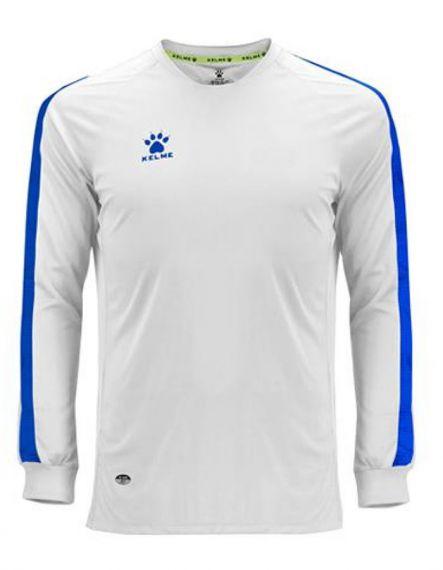 Kelme Блуза Global M/L Jersey 78167-6 White - Бяло