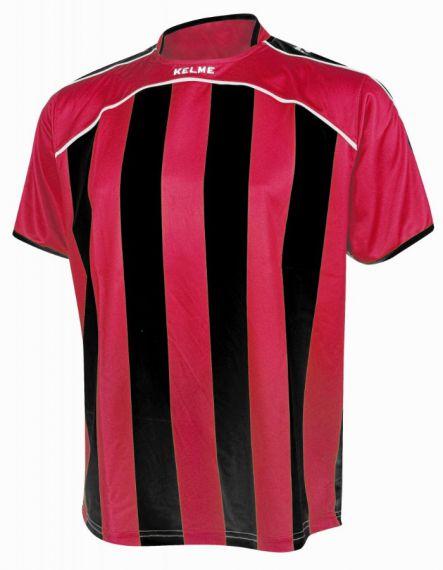 KELME Тениска Liga S/S Jersy 78326-145 Red Black - Червено/Черно