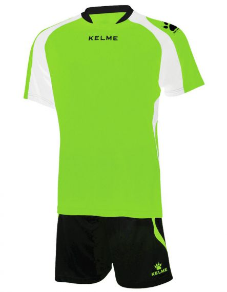 KELME Детски Футболен екип Saba Set JR 78412-329 Lime Black - Зелено