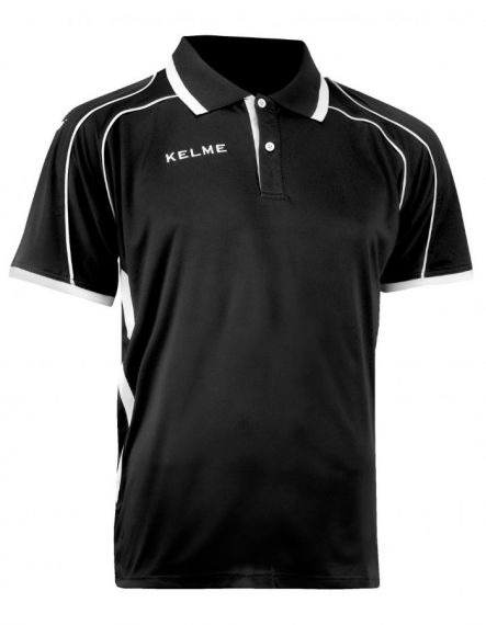 KELME Тениска Saba S/S Polo Training 78414-26 Black - Черно