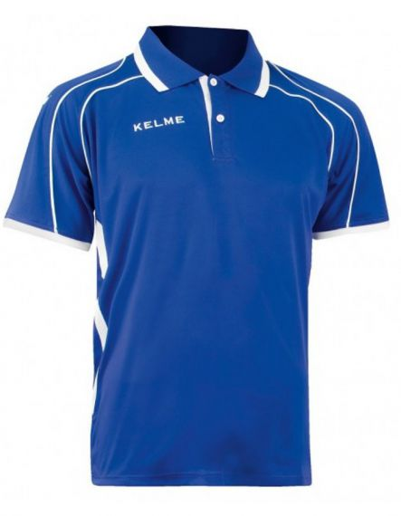 KELME Тениска Saba S/S Polo Training 78414-703 Royal - Синьо