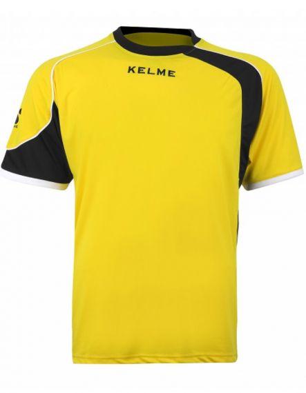 Kelme Тениска Cartago S/S T-Shirt 78415-47 Yellow Black - Жълто