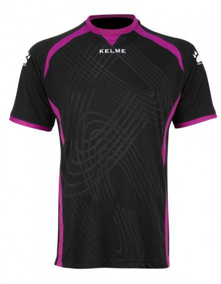 Kelme Вратарска тениска Goal Keeper Shirt S/S 78416-26 Black - Черно