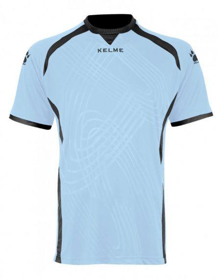 Kelme Вратарска тениска Goal Keeper Shirt S/S 78416-74 Light Blue - Синьо