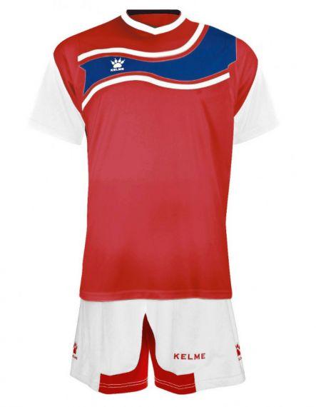 KELME Футболен екип Suriname Set JR 78417-129 Red White - Червено