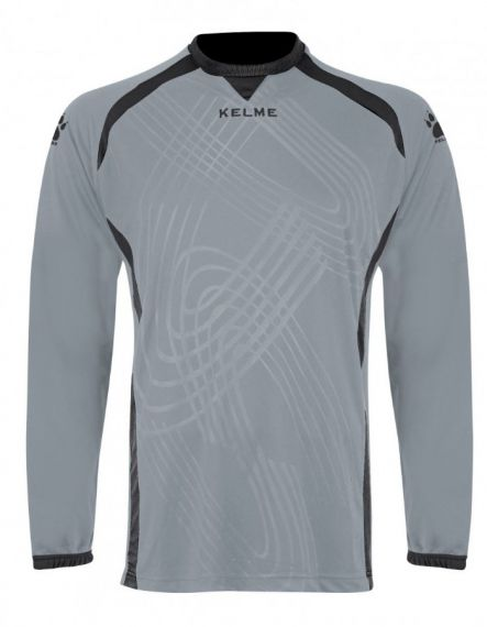 Kelme Вратарска блуза Goal Keeper Shirt L/S 78430-701 Silver Black - Сиво