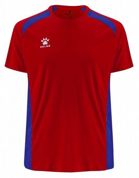 KELME Детска Тениска Millennium S/S Jersey JR 78434-130 Red - Червено
