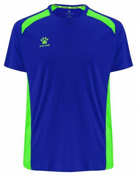KELME Детски Тениска Millennium S/S Jersey JR 78434-703 Royal - Синьо