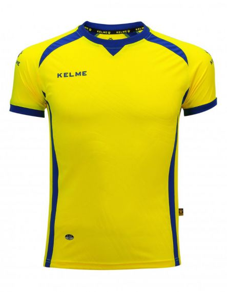 KELME Детска Тениска Premium S/S Jersey JR 78435-151 Yellow - Жълто