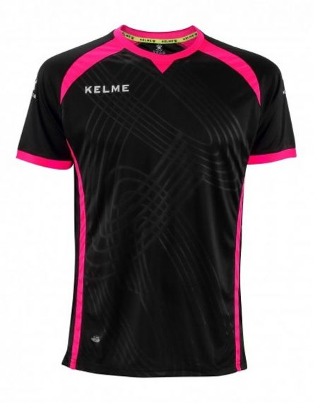KELME Детска Тениска Premium S/S Jersey JR 78435-26 Black - Черно