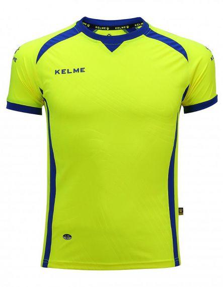 KELME Детска Тениска Premium S/S Jersey JR 78435-944 Yellow Fluor - Жълто
