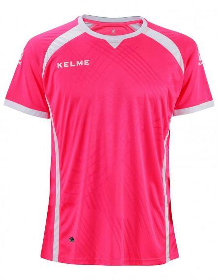 KELME Тениска Premium S/S Jersey SR 78435-962 Electric Pink - Розово