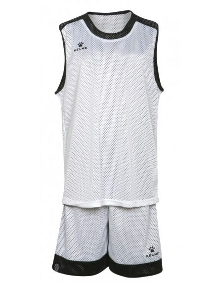 Kelme Баскетболен екип Reversible Set Basketball 80861-61 White Black - Бяло