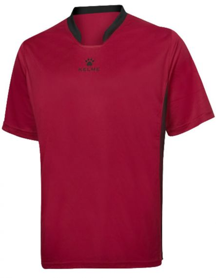 Kelme Тениска Basketball S/S Training T-Shirt 80946-130 Red - Червено