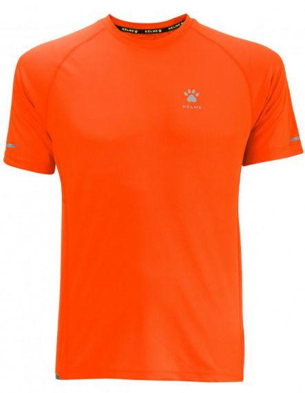 Kelme Тениска Chip S/S T-shirt Unisex 87017-227 Orange - Оранжево