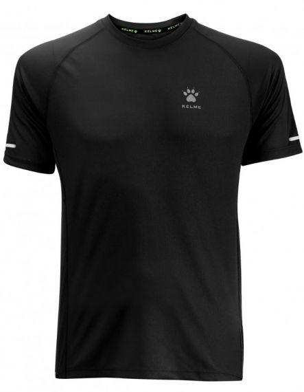 Kelme Тениска Chip S/S T-shirt Unisex 87017-26 Black - Черно