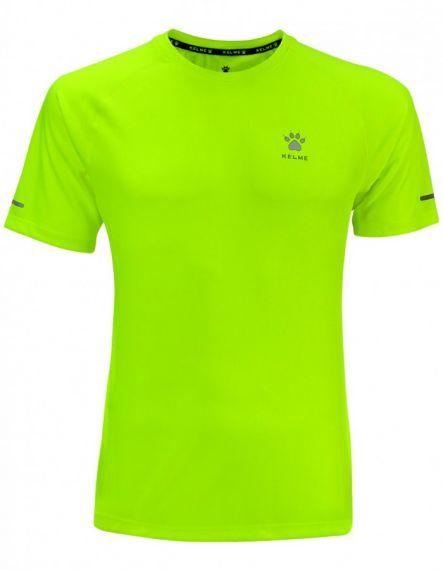 Kelme Тениска Chip S/S T-shirt Unisex 87017-402 Lime - Жълто