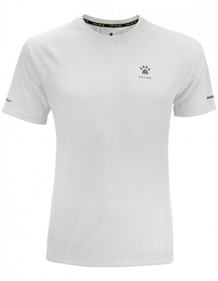 Kelme Тениска Chip S/S T-shirt Unisex 87017-6 White - Бяла
