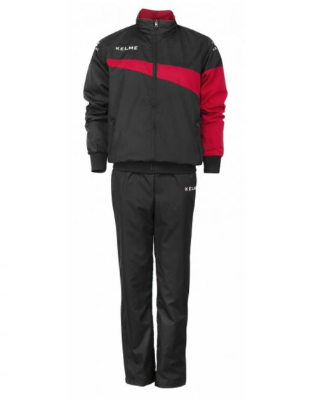 Kelme Спортен екип Sur Tracksuit 93096-148 Black Red - Черно