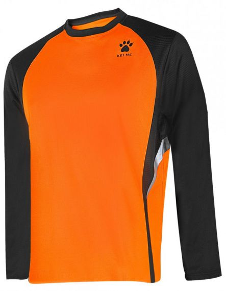 Kelme Блуза Gravity Athletics L/S Training T-Shirt 87259-317 Orange Black - Оранжево
