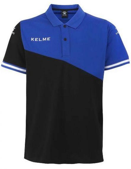 Kelme Блуза с къс ръкав Polo MC Sur S/S 93097-486 Black Royal - Черно