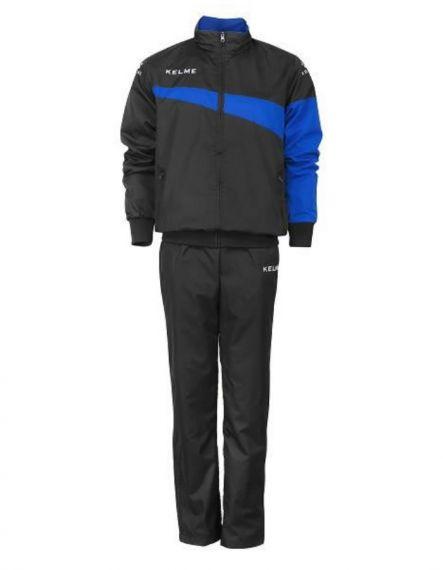 Kelme Спортен екип Sur Tracksuit 93096-486 Black Royal - Черно