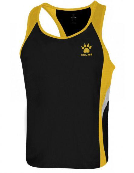 Kelme Потник Gravity Athletics Competition Sleeveless T-Shirt 87254-91 Black Gold - Черно