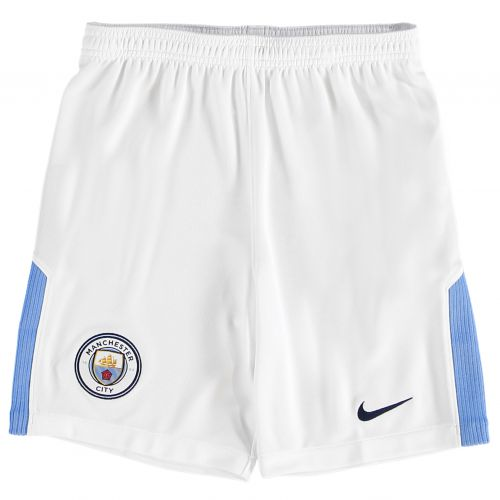 Manchester City Home Stadium Shorts 2017-18 - Kids