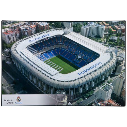 Real Madrid Stadium Desk Mat - 34.5cm x 49.5cm