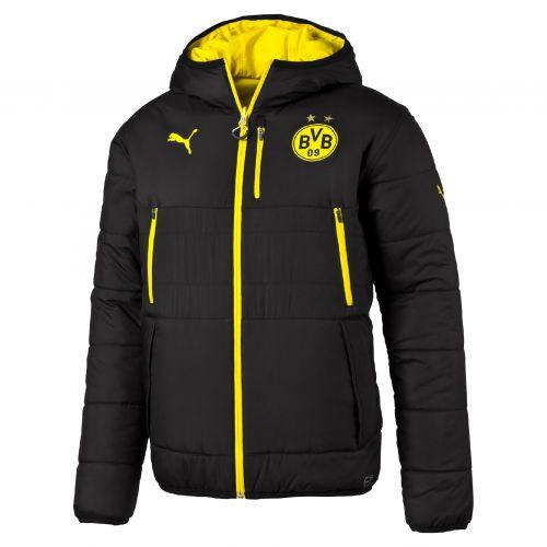 BVB Training Reversible Jacket - Black - Yellow - Kids