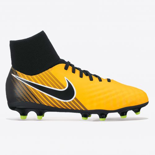 Nike Magista Onda II Dynamic Fit Firm Ground Football Boots - Laser Orange/Black/White/Volt - Kids