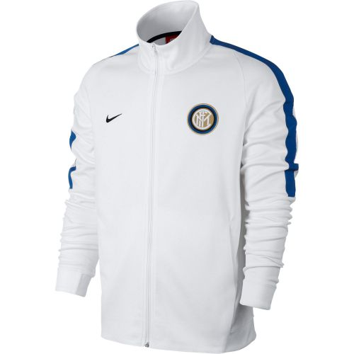 Inter Milan Authentic Franchise Jacket - White