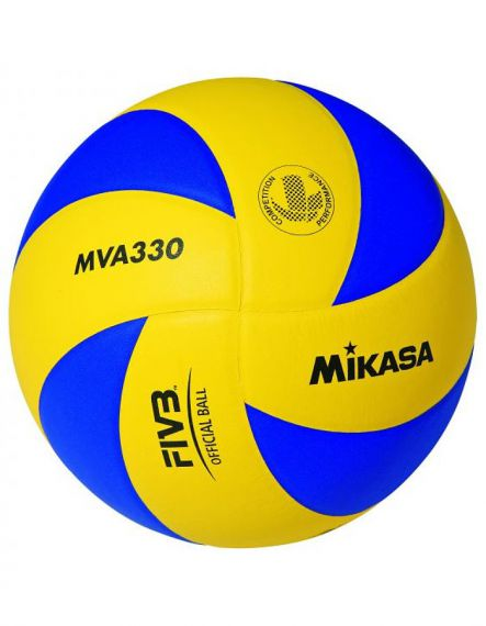 Mikasa Волейболна топка MVA330 - Синьо/Жълто