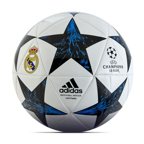 Real Madrid Finale 17 Capitano Football - Size 5 - White