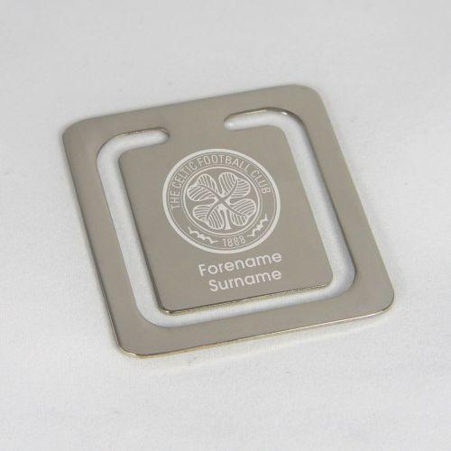 Celtic Personalised Bookmark