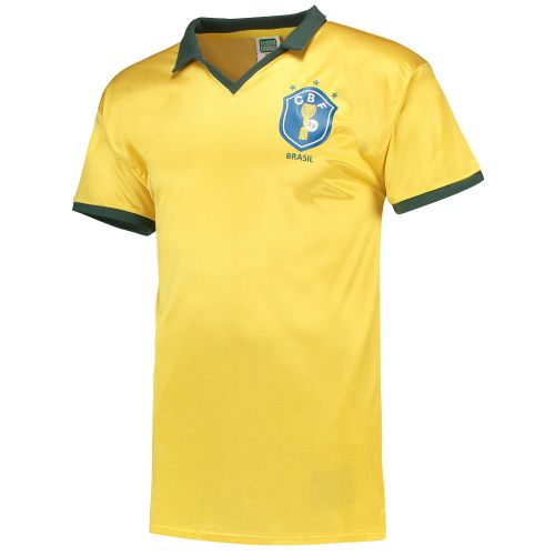 Brazil 1986 World Cup Finals Shirt