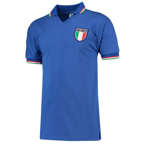 Italy 1982 World Cup Finals Home Shirt