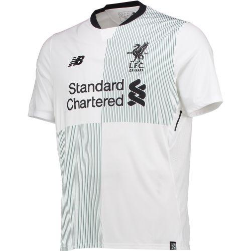 Liverpool Away Shirt 2017-18 with Virgil 4 printing