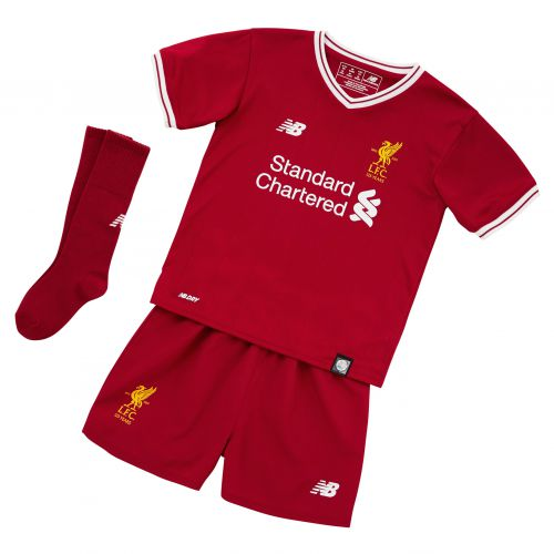 Liverpool Home Infant Kit 2017-18 with Chamberlain 21 printing