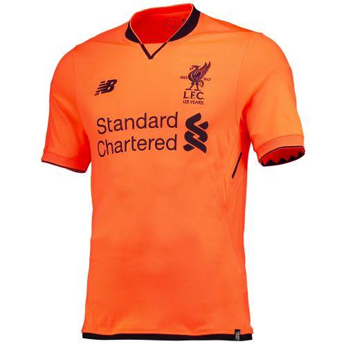 Liverpool Third Shirt 2017-18 with Virgil 4 printing